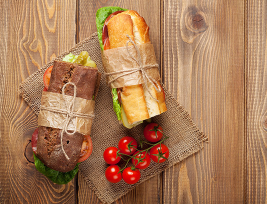 عکس ساندویچ فیله گوشت