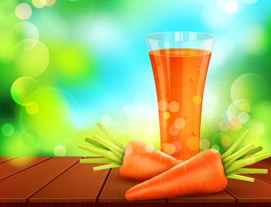 وکتور هویج و آب هویچ