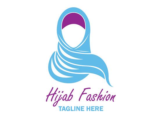 وکتور لوگوی فروشگاه حجاب شماره ۰۱