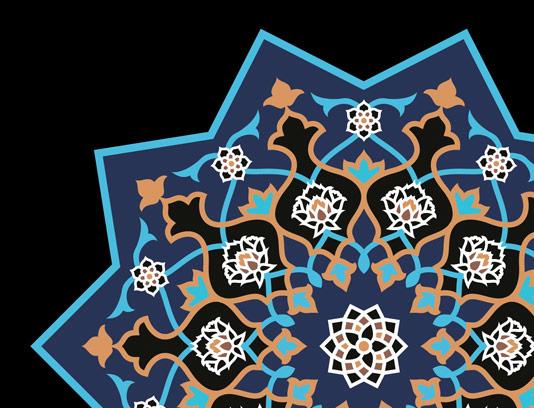 وکتور طرح کاشی کاری اسلامی شماره ۴