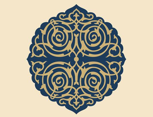 وکتور نماد و المان اسلامی شماره ۱