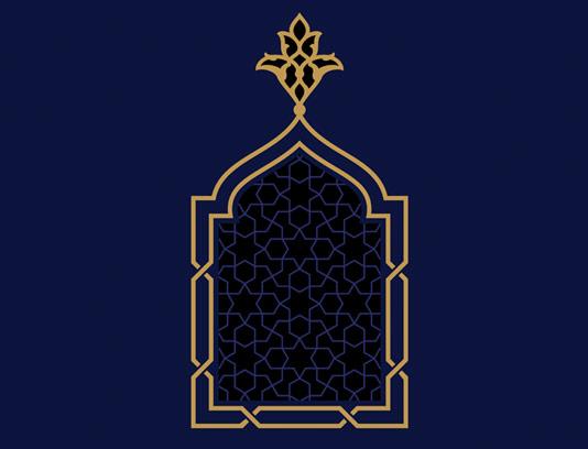 وکتور نماد و المان های اسلامی شماره ۰۳