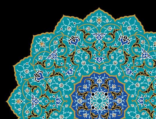 وکتور کاشی کاری اسلامی شماره 7