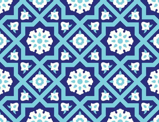 وکتور کاشی کاری اسلامی شماره ۸