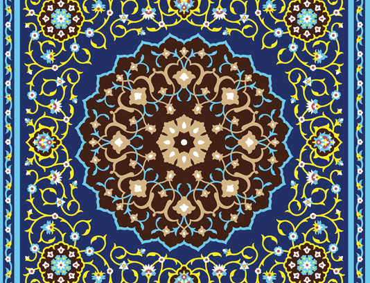 وکتور کاشی کاری اسلامی ۹