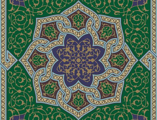 وکتور کاشی کاری اسلامی شماره ۱۲