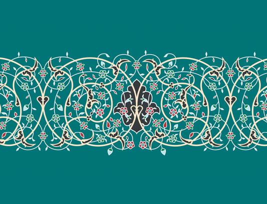 وکتور کاشی کاری اسلامی شماره ۱۷