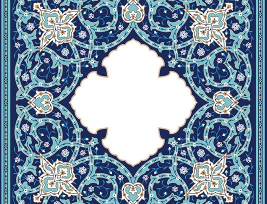 وکتور کاشی کاری اسلامی شماره ۱۹