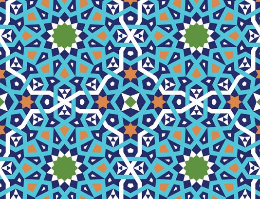 وکتور کاشی کاری اسلامی شماره ۲۱