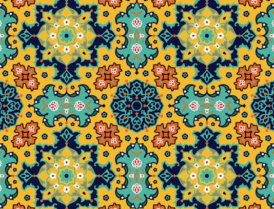 وکتور کاشی کاری اسلامی شماره ۲۲