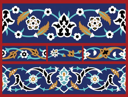 وکتور کاشی کاری اسلامی شماره ۲۷