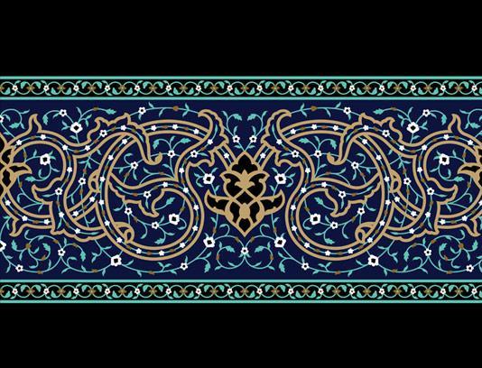 وکتور کاشی کاری اسلامی  شماره ۲۹