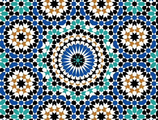 وکتور کاشی کاری اسلامی شماره ۳۱