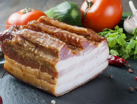 عکس با کیفیت ژامبون مرغ و گوشت تنوری