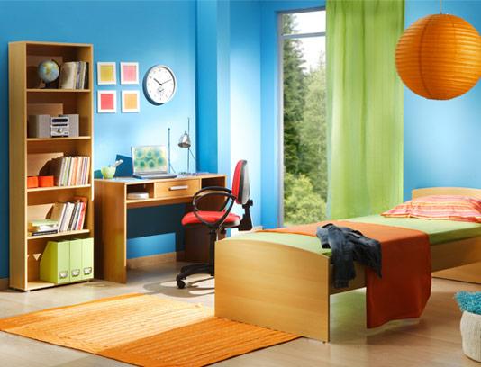تصویر با کیفیت طراحی داخلی اتاق جوان و نوجوان