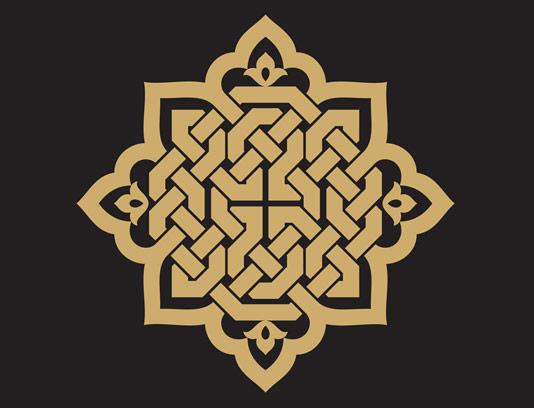 وکتور طرح نماد و المان اسلامی شماره ۰۴