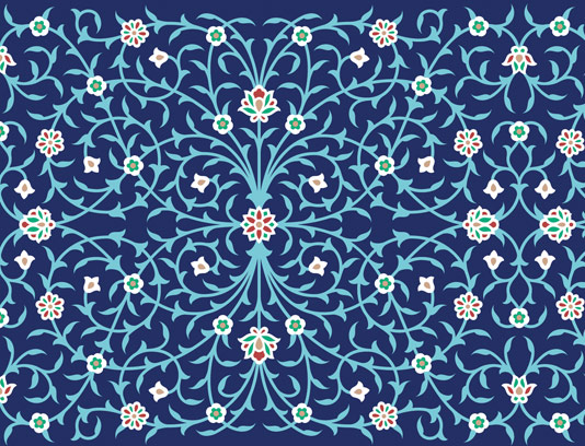 وکتور کاشی کاری اسلامی شماره ۳۲