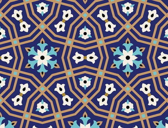 وکتور کاشی کاری اسلامی شماره ۳۳
