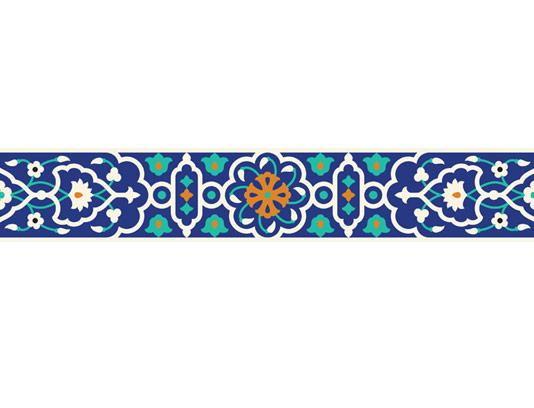 وکتور طرح کاشی کاری اسلامی شماره 70