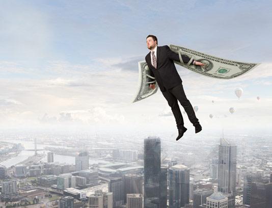 عکس با کیفیت مفهومی کسب و کار پیشرفت کسب و کار با پول