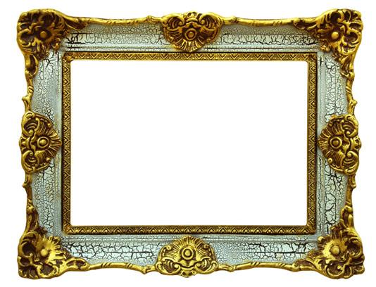 عکس با کیفیت قاب عکس چوبی طلایی شماره 01