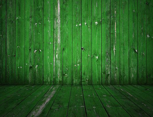تکسچر دیوار و زمینه ی چوبی سبز رنگ