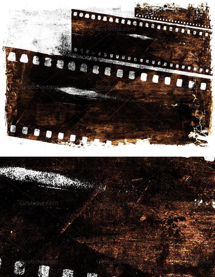 طرح تکسچر فیلم گرانج شماره ۰۱
