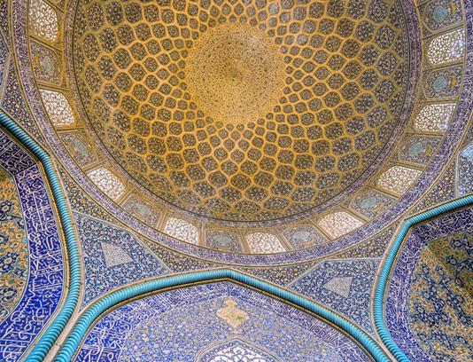عکس با کیفیت مسجد شیخ لطف الله اصفهان
