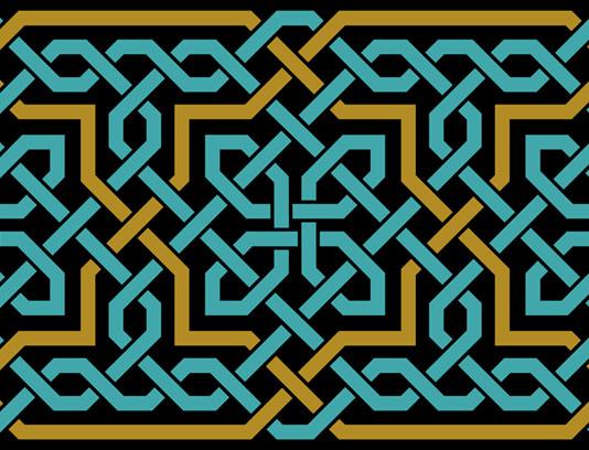 وکتور طرح نماد اسلامی شماره ۰۸