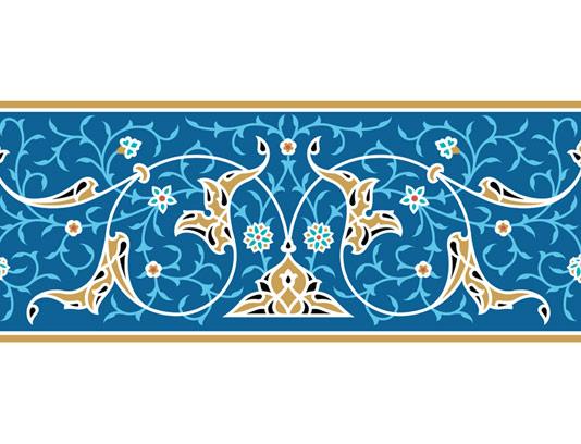 وکتور طرح کاشی کاری اسلامی شماره 82