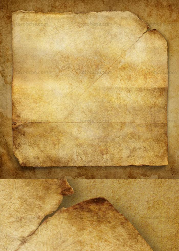 طرح تکسچر کاغذ قدیمی با کیفیت عالی