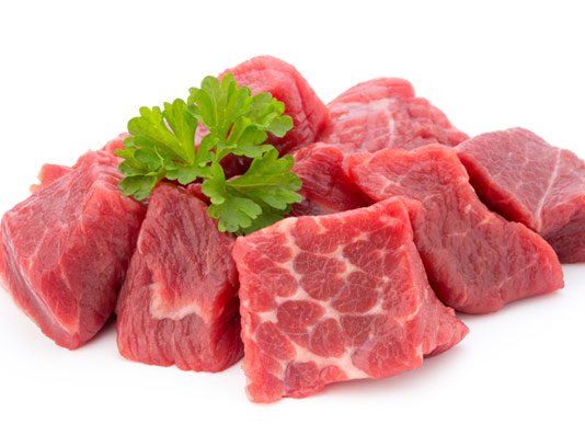 عکس با کیفیت گوشت تازه ی خرد شده