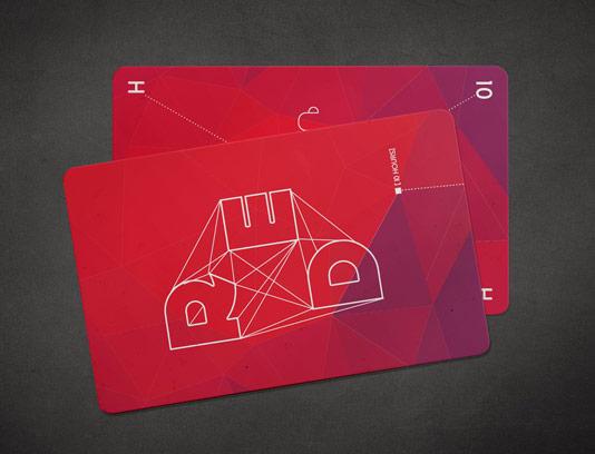 طرح لایه باز موکاپ کارت ویزیت دو طرفه شماره ۰۶