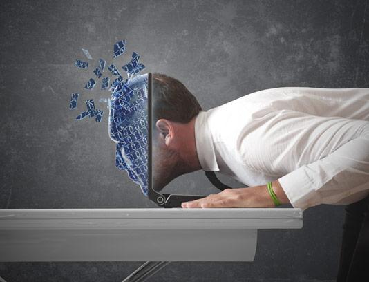 عکس با کیفیت کسب و کار مفهومی دنیای دیجیتال