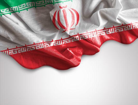 عکس با کیفیت پرچم ایران با پارچه ی کتان