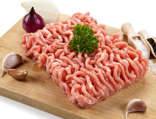 عکس با کیفیت گوشت چرخ شده تازه