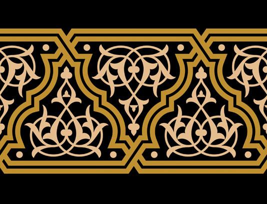 وکتور طرح نماد و المان اسلامی شماره ۱۱