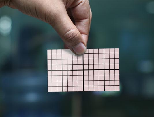طرح لایه باز موکاپ کارت ویزیت شماره 09
