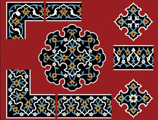 وکتور طرح نماد و المان اسلامی شماره ۱۲