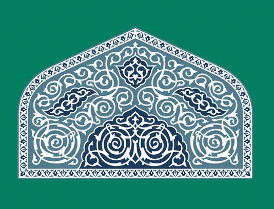 وکتور طرح نماد و المان اسلامی شماره 14