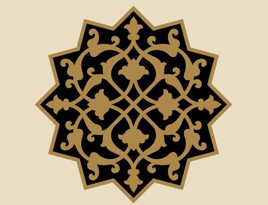 وکتور طرح نماد و المان اسلامی شماره ۱۷