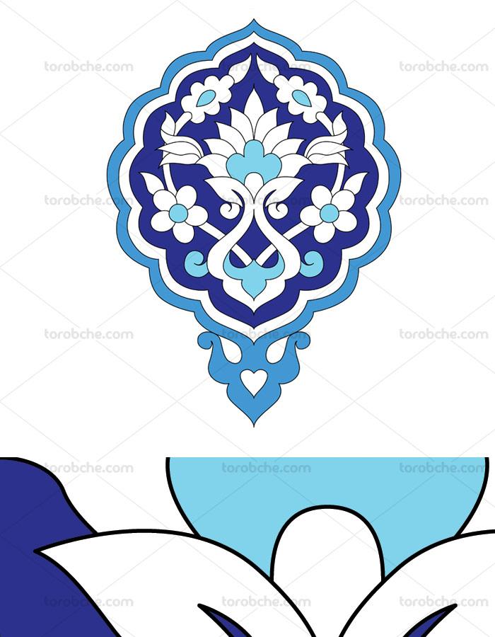 وکتور طرح نماد و المان اسلامی شماره ۱۸