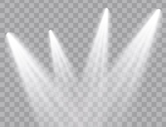 وکتور طرح افکت نور بدون پس زمینه شماره ۰۴