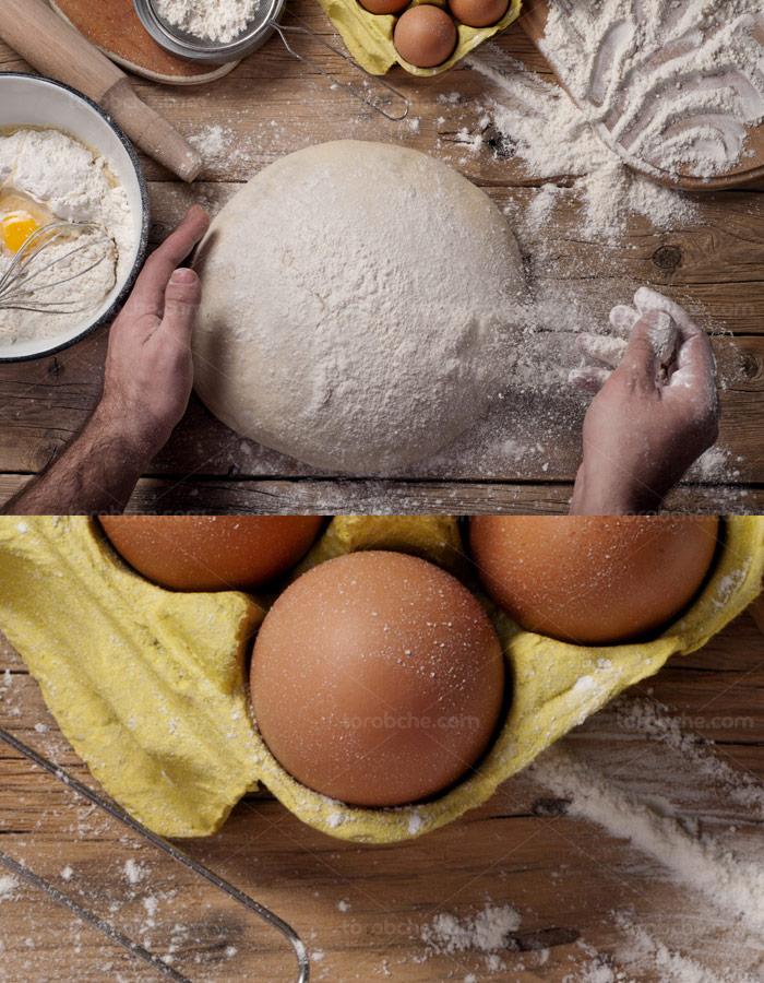 عکس با کیفیت مراحل آماده سازی پخت کیک