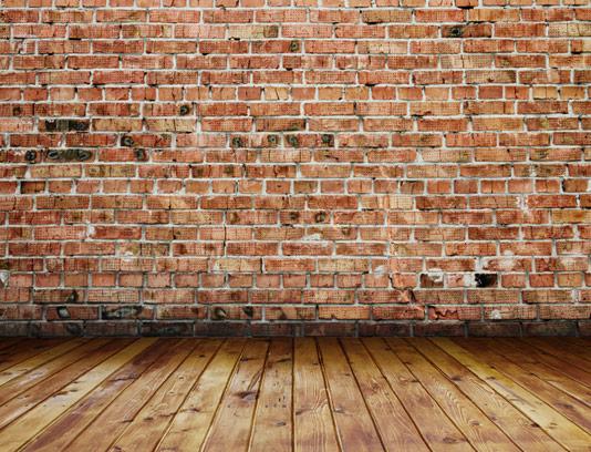 تکسچر با کیفیت دیوار آجری و زمینه چوبی شماره 04