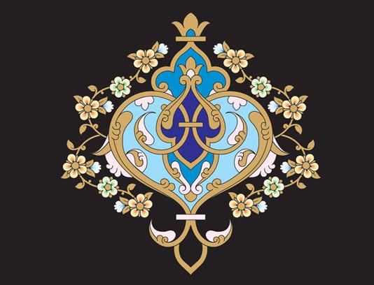 وکتور طرح نماد و المان اسلامی شماره ۲۶