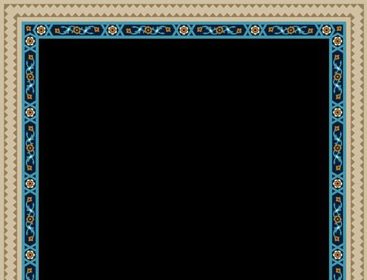 وکتور کاشی کاری اسلامی شماره ۱۲۷