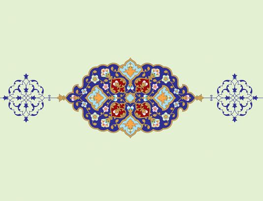 وکتور طرح نماد و المان اسلامی شماره ۲۳