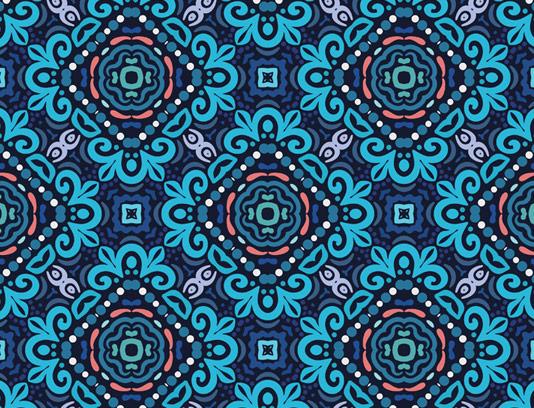 وکتور طرح پس زمینه و پترن سنتی شماره ۰۳