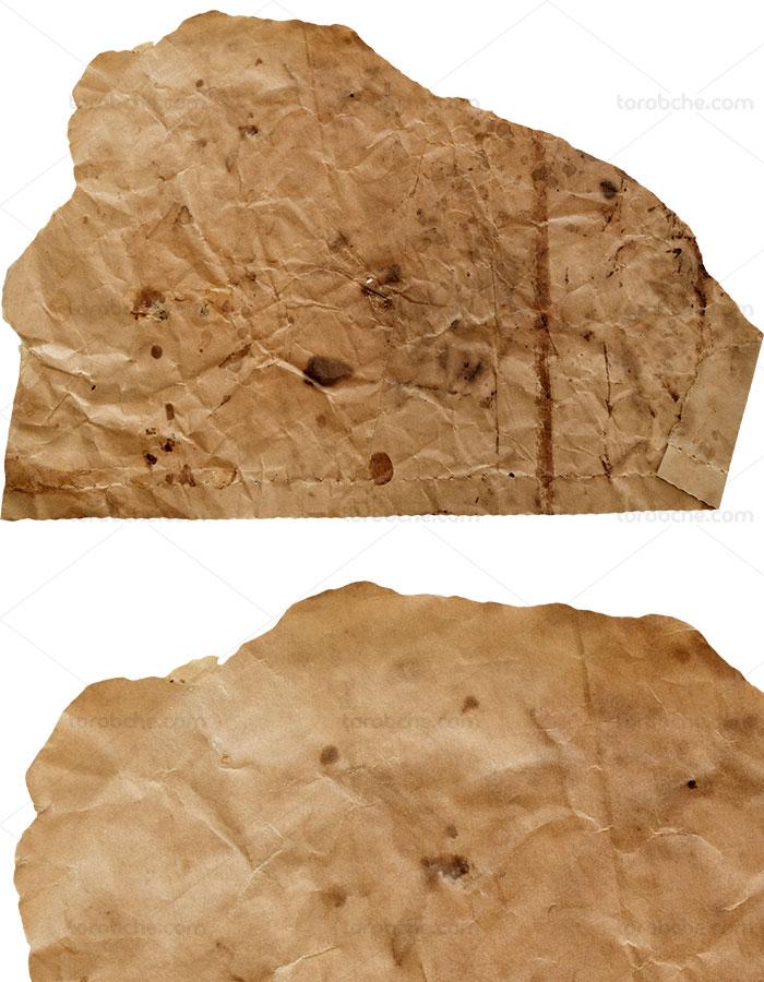 تکسچر کاغذ قدیمی مچاله شده ۰۴